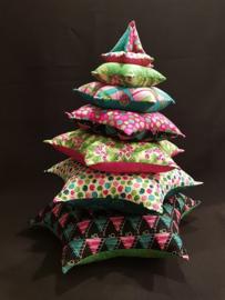 Merry Little Christmas kerstboom, patroon