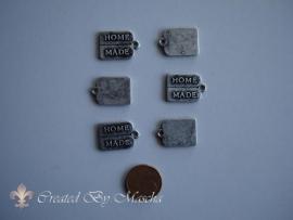 Bedel, Home Made, antiek zilver