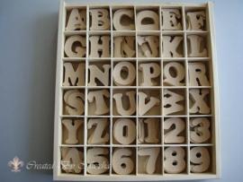 MDF letters & cijfers