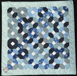Freewheel quilt - patroon