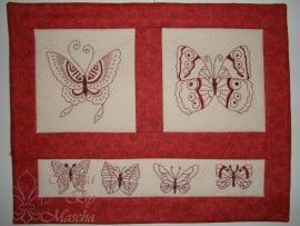 Butterflies quiltje