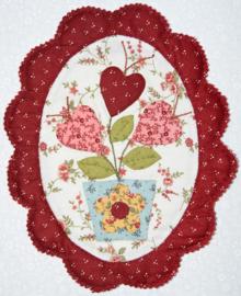 Oval Flower Pot Quilt
