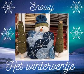 Snowy, het winterventje