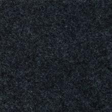 Gemelleerde acryl vilt, zwart gevlekt.