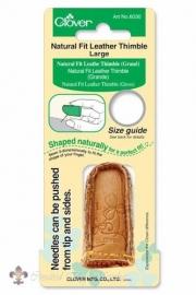 Clover Vingerhoed leer - Large 17,5 mm