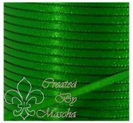 4 mm Groen satijnlint