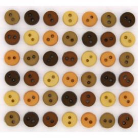 Tiny Natural Buttons