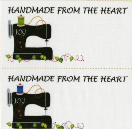 Handmade From The Heart - Quiltlabel