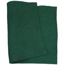 Wolvilt, groen, dikte 3 mm