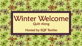 Stoffenpakket voor Winter Welcome Quilt Along