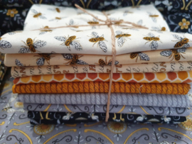 Stofpakket Bee Grateful, Fat Quarters