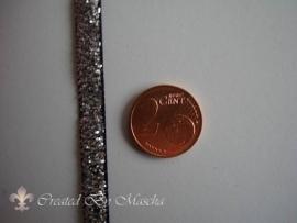 Decoratief lint zilver, 5 mm nr 52223-9