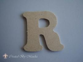 MDF letter R