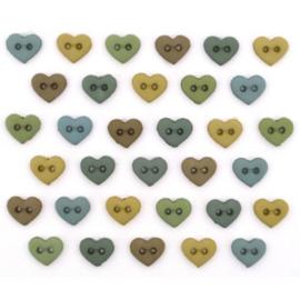 MM Hearts Earthtones