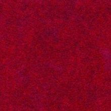 Gemelleerd acryl vilt, rood gevlekt