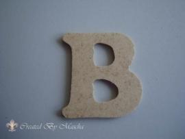 MDF letter B