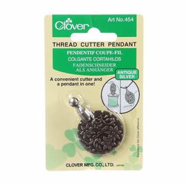 Thread Cutter Pendant, Antiek zilver