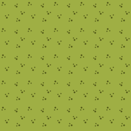 Contemporary, Paw Prints, Apple Green