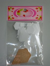 Patchwork with busy fingers - Jewel 1 inch met template