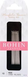 Bohin Milliners/straw needles Nr 10