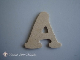 MDF letter A