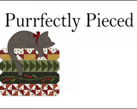 Purrfectly Pieced - Quiltlabel