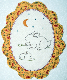Oval Rabbit Stitchery, compleet