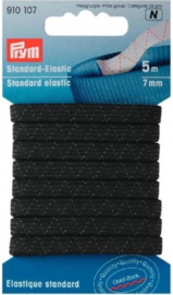 Standaard Elastiek zwart, 5 meter