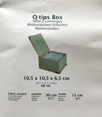 Q-tips Box