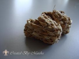 Schoenen van stro (4 cm)
