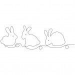 Baby Bunnies, EL447