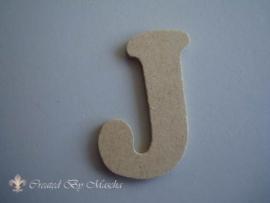 MDF letter J