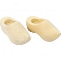 Houten klompjes, 4 cm