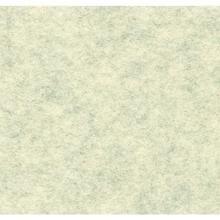 Gemelleerd acryl vilt, off-white, gevlekt