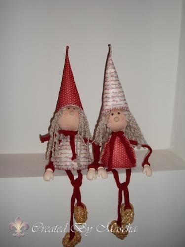 Kerstelven paar - compleet
