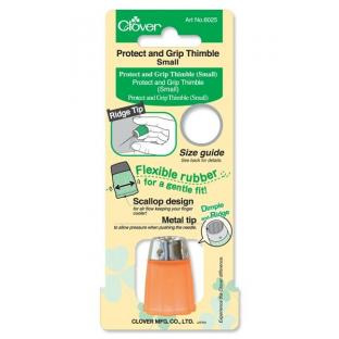Clover Protect and Grip Thimble - Small 14.5 mm