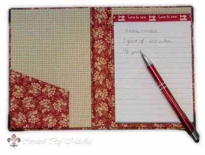 Medium notebook A6