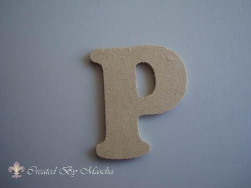 MDF letter P