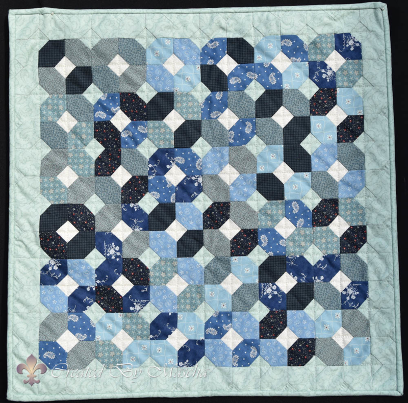 Freewheel quilt - patroon