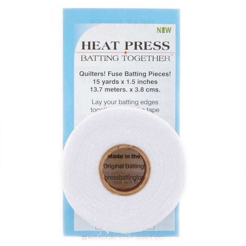 Heat Press Batting Together 1,5 inch