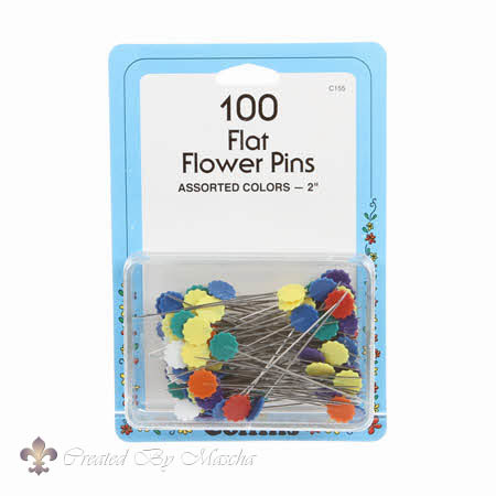 Collins 100 Flowerhead Pins