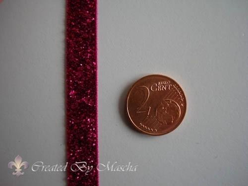decoratief lint roze, 10 mm nr 52223-10