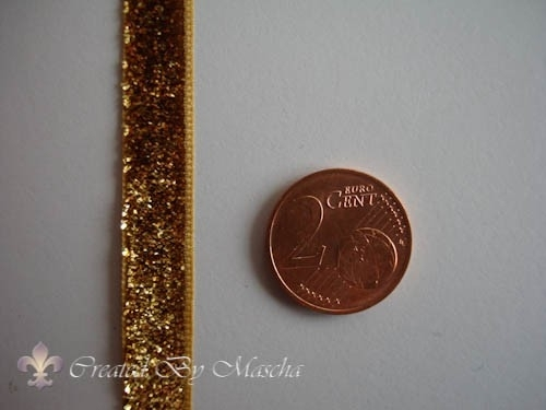 Decoratief lint goud, 10 mm nr 52223-8