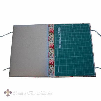 Quiltmap A4 met snijmat en strijkovertrek