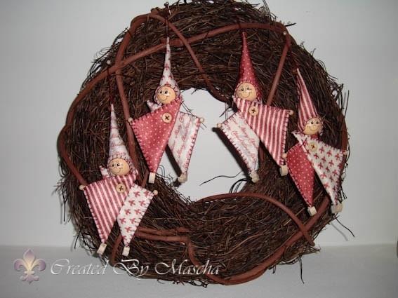 Kerstboomelfjes- compleet