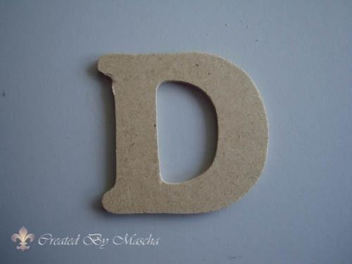 MDF letter D
