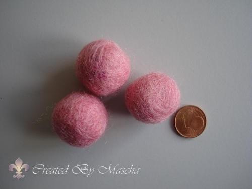 Wolkraal, 20 mm, pastel roze