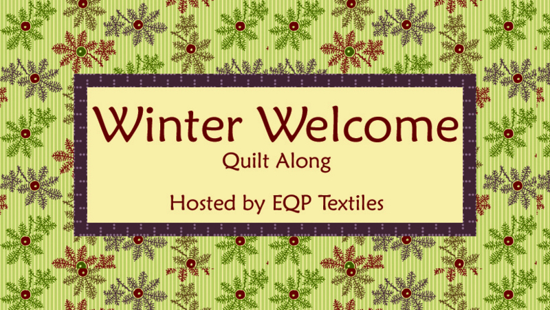 Stoffenpakket voor Winter Welcome Quilt Along