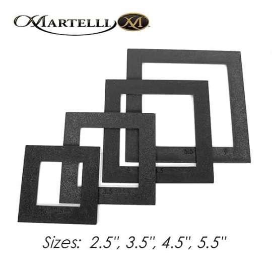 Small square fussy-cut set 2.5 x 5.5 inch