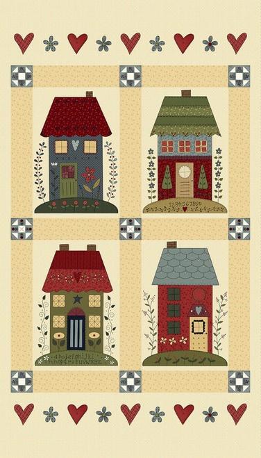 Home Sewn Panel, 2225P-44